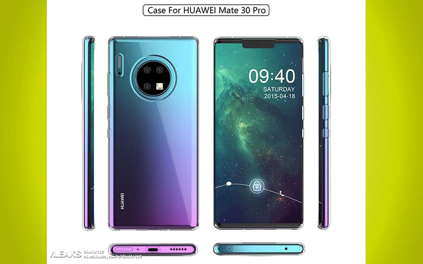 huawei mate 30 triple capteur photo
