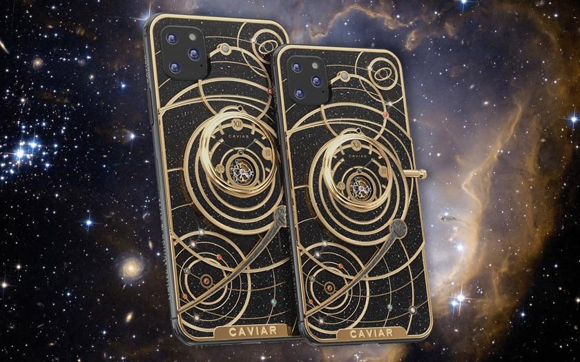 iPhone 11 : Caviar présente une édition incrustée de météorites, à 45 000 euros