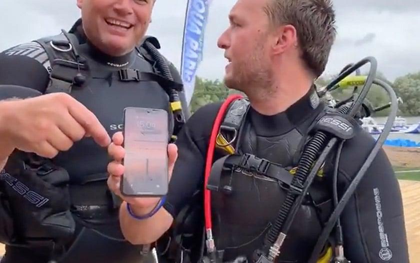 iphone x fond lac fonctionne toujours