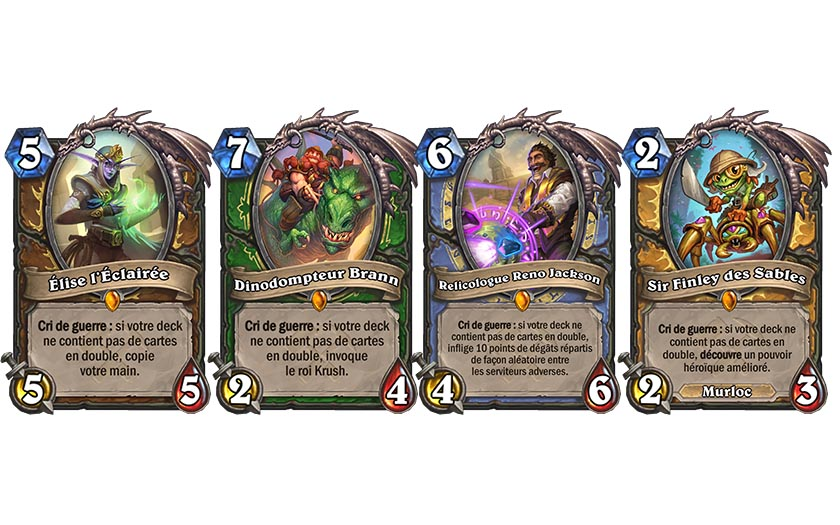 ligue explorateurs hearthstone