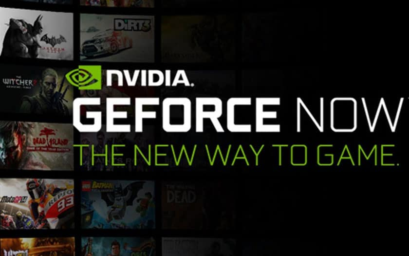 Nvidia GeForce Now sur Android