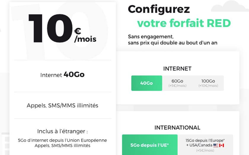 red by sfr un seul forfait