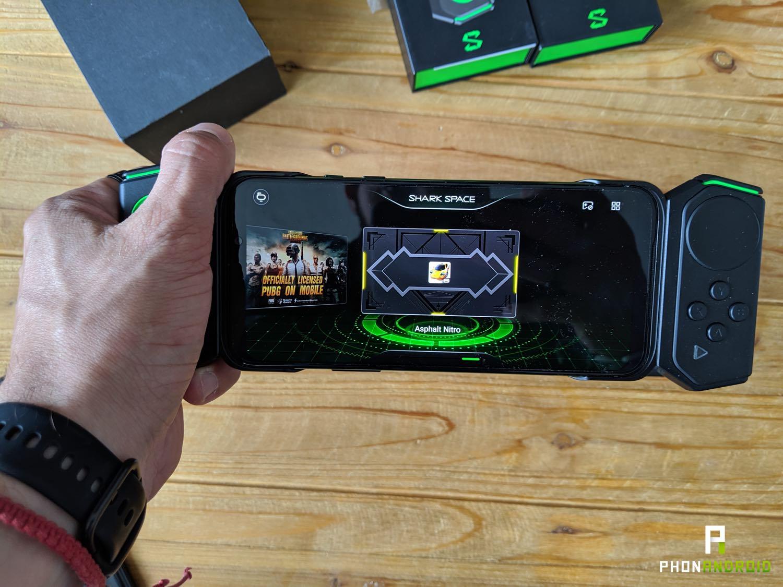 test black shark 2 console