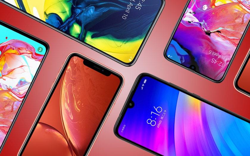 ventes smartphones chute libre 2019
