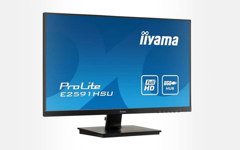 Ecran PC 24.5 Iiyama ProLite E2591HSU-B1