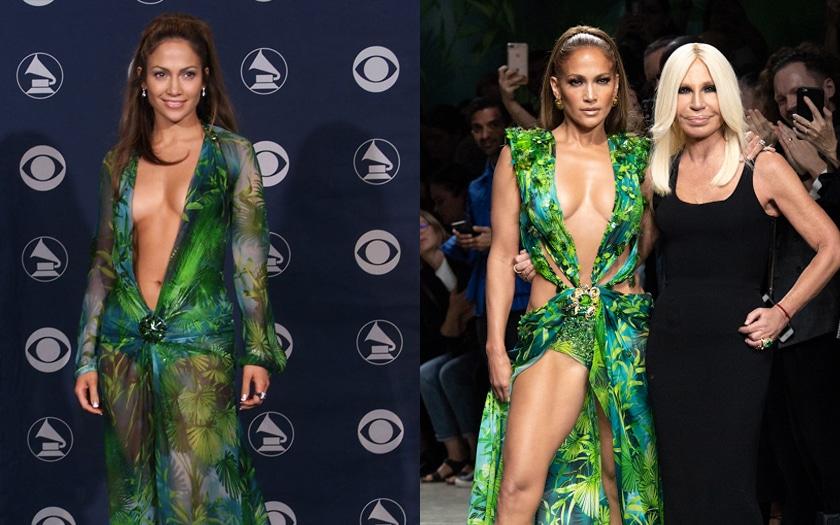 Jennifer Lopez Jungle Dress