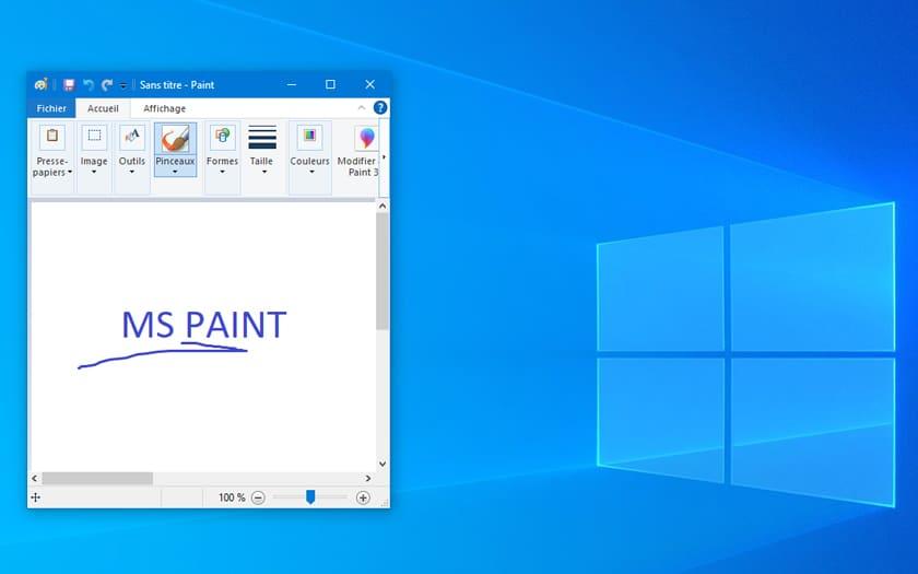 Windows 10 relègue Paint et WordPad en 2e division