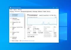 Windows 10 CPU
