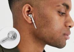 airpods asos faux écouteurs