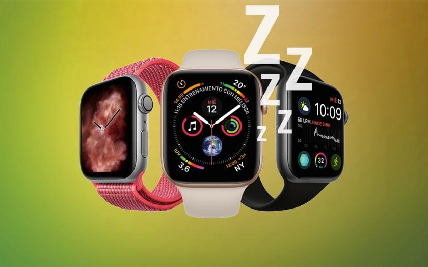 Apple Watch sommeil