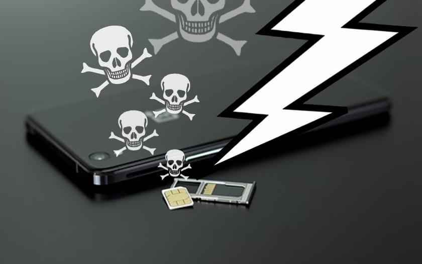 Arnaque carte SIM SMS OTP