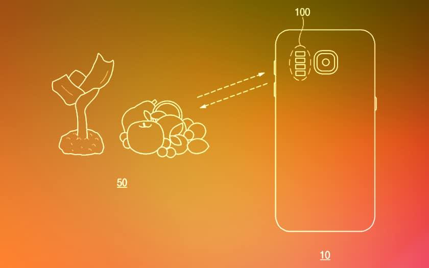 Brevet Samsung Spectrogramme Infrarouge