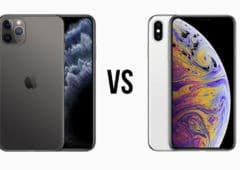 comparatif iphone 11 pro max iPhone xs max