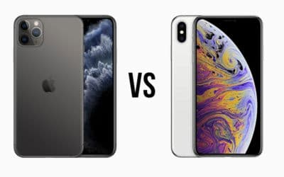 Comparatif iPhone 11 Pro Max vs iPhone XS Max