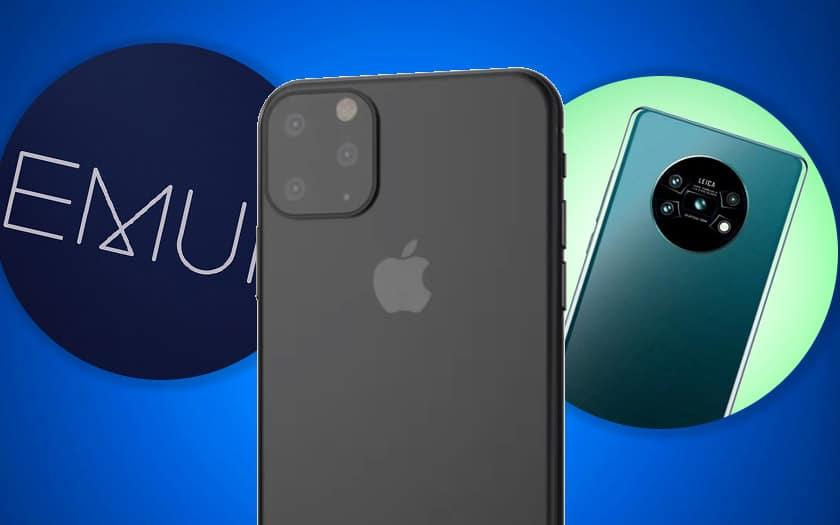 emui 10 huawei deploiement iphone 11 apple mate 30 play store