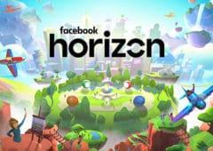 facebook horizon réseau social réalité virtuelle