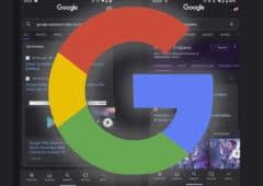 google app mode sombre apk