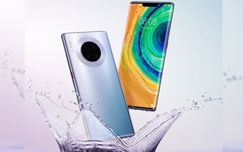 huawei mate 30 pro design photos officielles