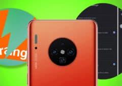 huawei mate 30 pro gmail mode sombre orange coupé deux arcep
