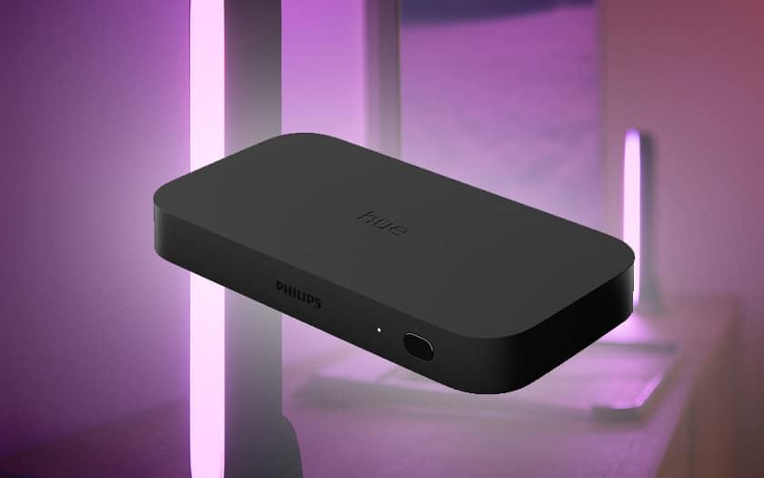 Hue Play HDMI Sync Box : Philips lance une box pour synchroniser les lumières avec la TV