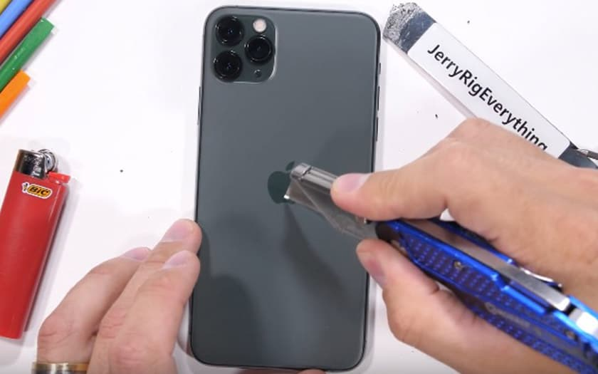 iphone 11 pro max test résistance