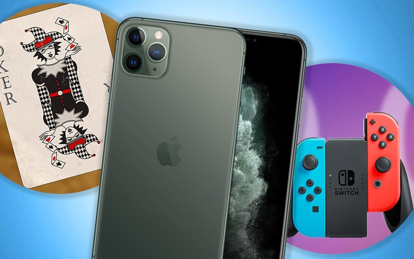 malware android joker apple iphone 11 nintendo switch mise jour firmware