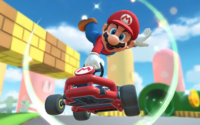 Mario Kart Tour démarrage sur smartphone