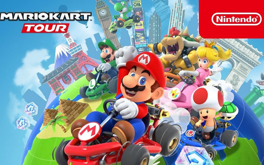 MArio Kart Tour : téléchargez le jeu sur Android et iOS