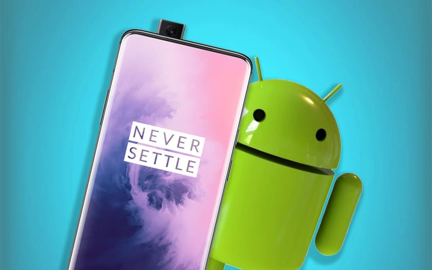 oneplus 7 android 10 déploiement