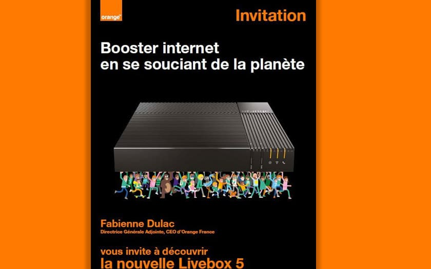 orange livebox 5 présentation 9 octobre 2019