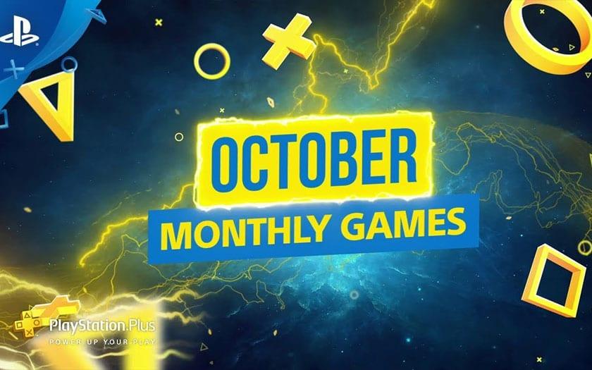 PlayStation Plus : les jeux gratuits d'octobre 2019