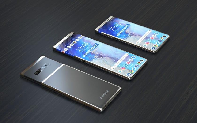 Smartphone à écran extensible de Samsung