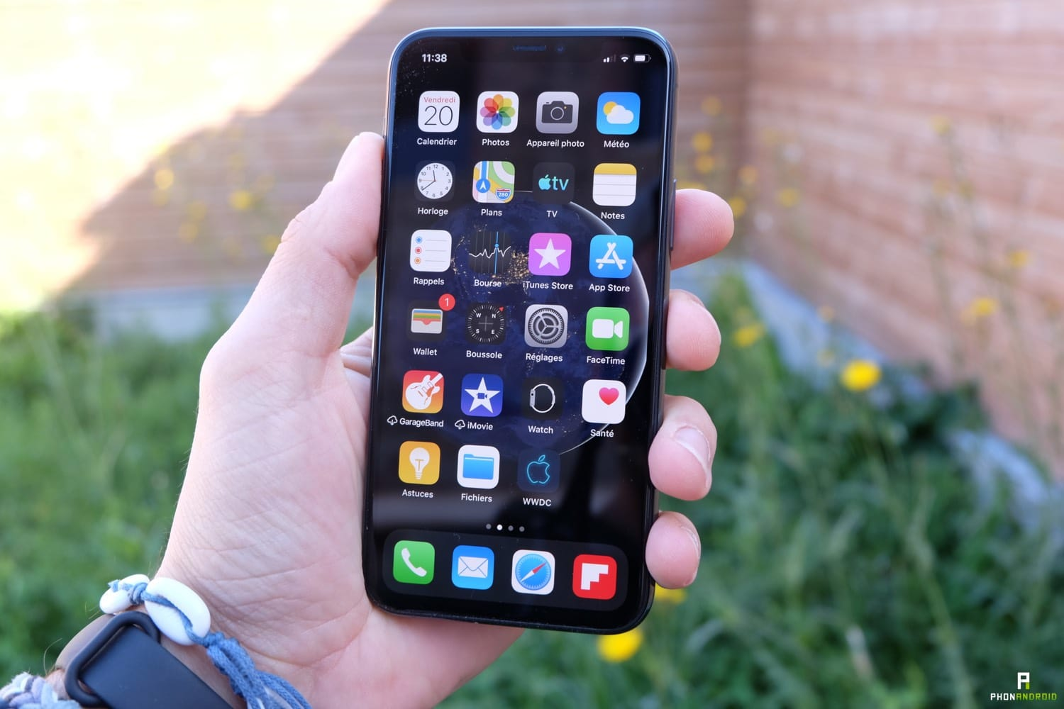 test iphone 11 pro face id