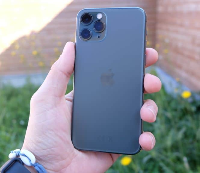 test iphone 11 pro performances