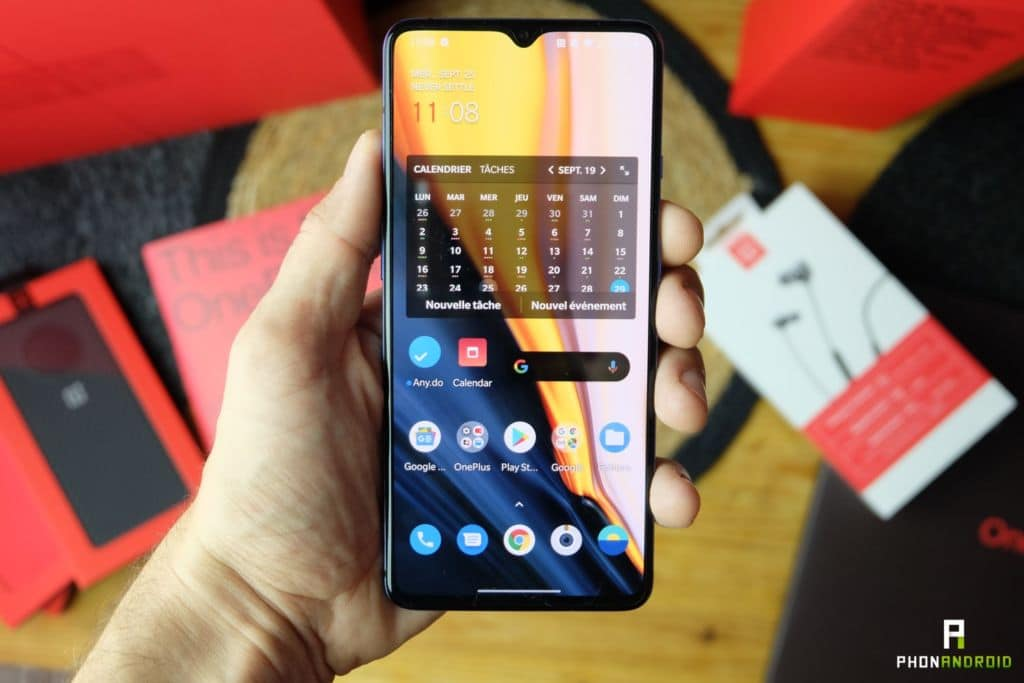 test oneplus 7t performances interface