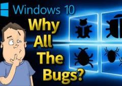 windows 10 bugs mises a jour