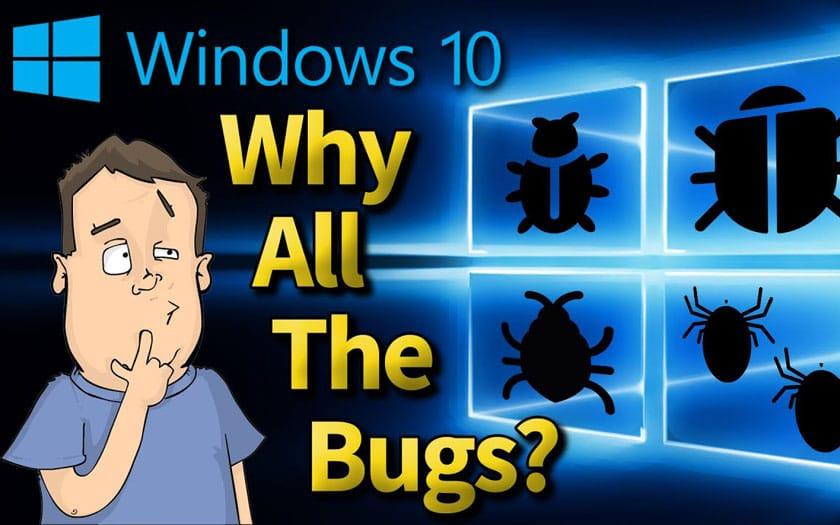 Pourquoi les bugs dans les mises à jour Windows 10
