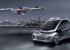 Audi Voiture Volante