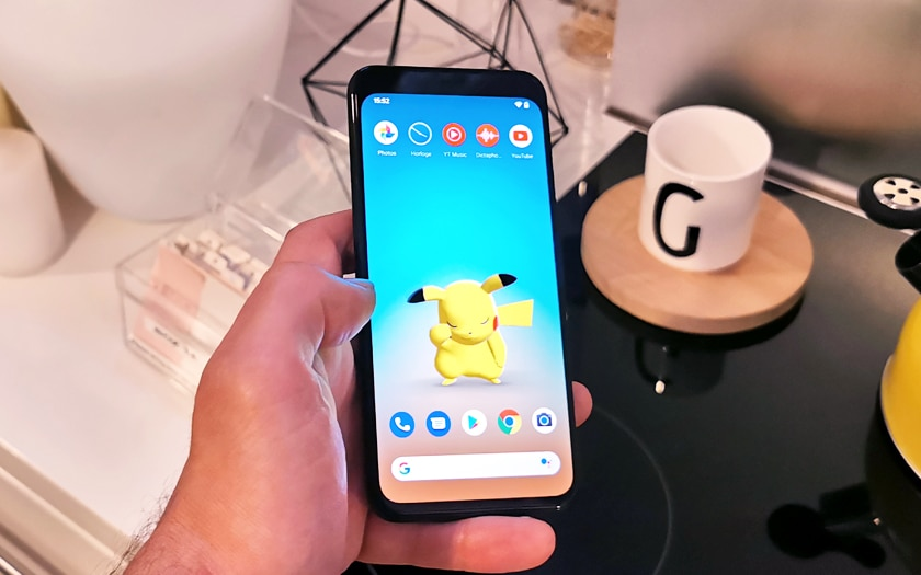 Ecran Google Pixel 4
