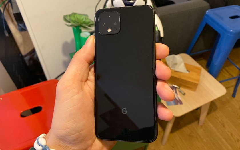 Capteurs photos arrières Google Pixel 4