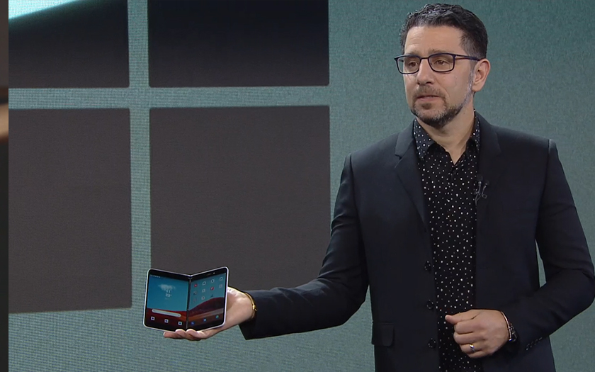 Microsoft Surface duo sur android