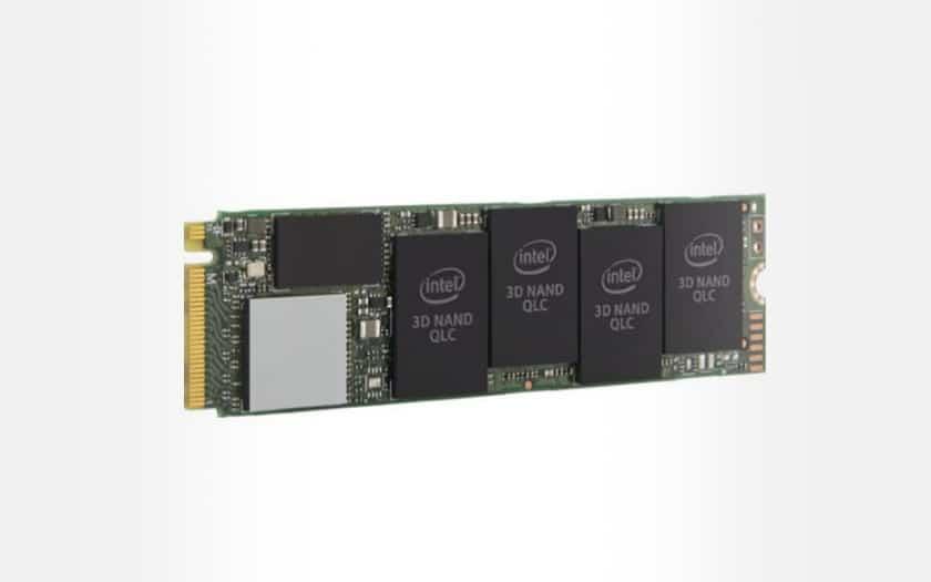 SSD Intel M.2 NVMe 660P Series - 512 Go