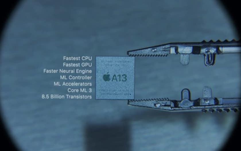 Le SoC Apple A13 Bionic