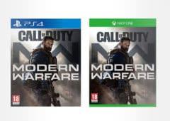 call of duty modern warfare meilleur prix
