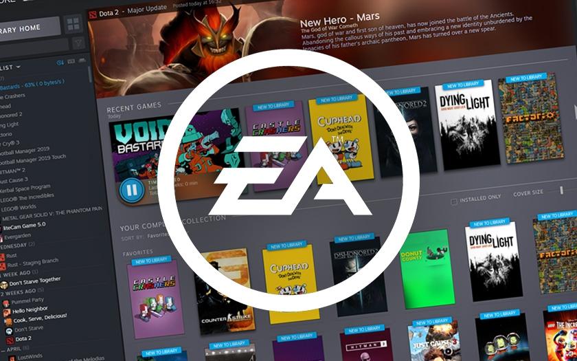 Electronic Arts revient sur Steam