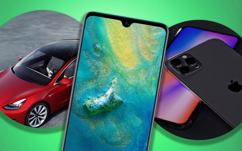 emui 10 huawei tesla model 3 iphone 12 pro