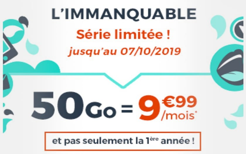 forfait cdiscount mobile