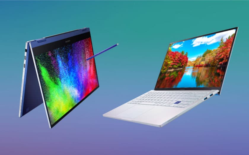 Samsung Galaxy Book Flex et Ion