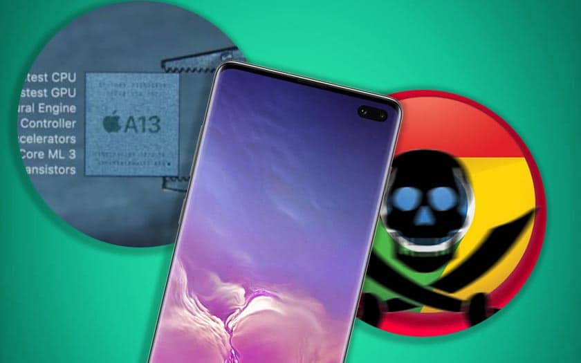 galaxy s10 faille iphone 11 benchmark chrome bloque zone téléchargement