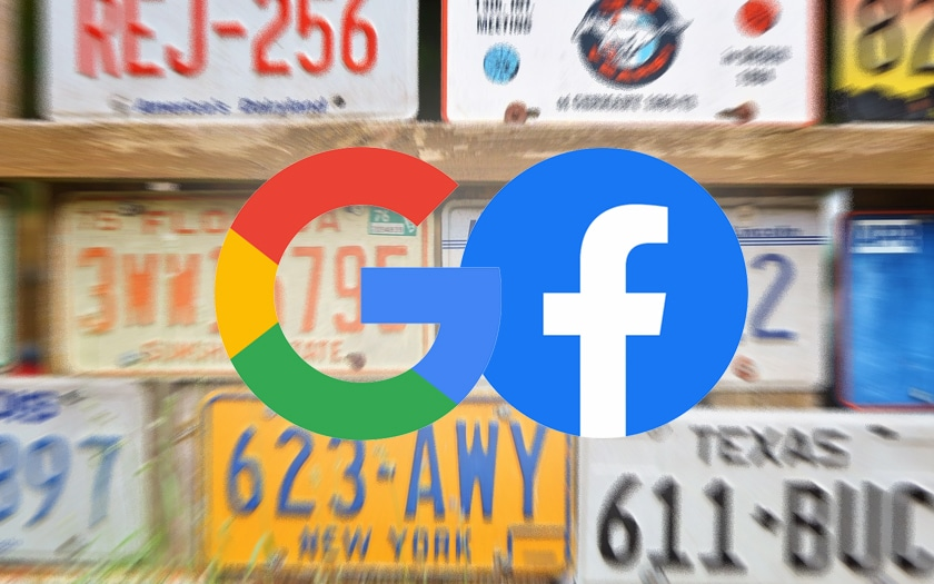 Google Facebook Plaques Immatriculation
